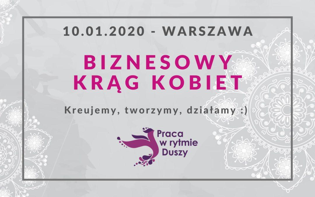 Biznesowy Krąg Kobiet – Warszawa już jutro