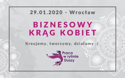 Biznesowy Krąg Kobiet – Wrocław 29 styczeń 2020r.